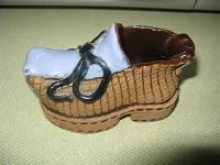 Отдается в дар Керамический ботинок