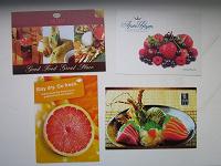 Отдается в дар открытки рекламные «еда»