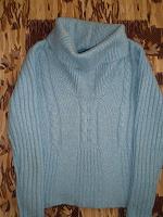 Отдается в дар Женский свитер с большим горлом