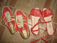 Отдается в дар Обувь новая, но без подошвы 37р.