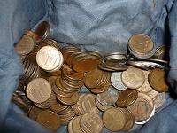 Отдается в дар И вновь монеты — целая куча!!!