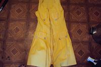 Отдается в дар отдам желтый сарафан 42-44 р
