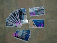 Отдается в дар Рекламные открытки… Fly cards…