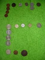Отдается в дар Монетки зарубжные