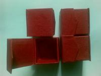 Отдается в дар Красненькие коробочки для упаковки