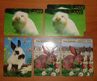 Отдается в дар кролики 2011 (календарики)