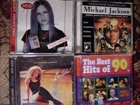 Отдается в дар Музыкальные диски.