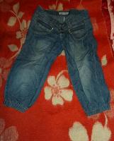 Отдается в дар Бриджи (капри) джинсовые