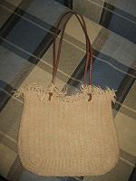 Отдается в дар сумка плетеная