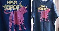 Отдается в дар Футболка «Terranova: Haca Toro!!». Размер L.