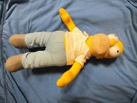 Отдается в дар Кукла Гомер Симпсон.
