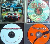 Отдается в дар Четыре диска с играми для PlayStation