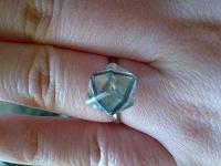 Отдается в дар кольцо с «брульянтом»!