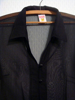 Отдается в дар черные полупрозрачные блузки-накидки