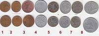 Отдается в дар Флора на монетах мира.8 монет.