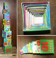 Отдается в дар Кубики-коробочки малышам.
