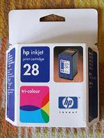 Отдается в дар Print cartridge hp inkjet tri-colour 28