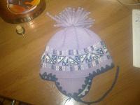 Отдается в дар шапочка детская