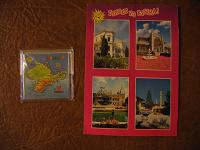 Отдается в дар Магнит и открытка из Крыма