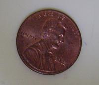 Отдается в дар монета один цент США