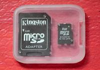 Отдается в дар Карта micro SD 1GB