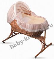 Отдается в дар Детская люлька-кровать с подставкой на колесах «Колыбель»