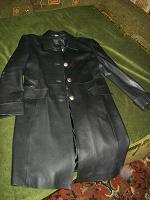 Отдается в дар Кожаное пальто