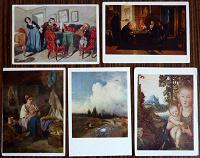 Отдается в дар Открытки — репродукции картин.
