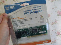Отдается в дар Сетевая карта D-Link DFE-520TX