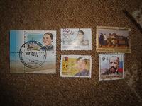 Отдается в дар марки художественные(прошедшие почту)
