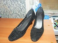 Отдается в дар туфли. 39 размер. искуственная замша.