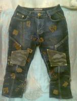 Отдается в дар Капри джинсовые