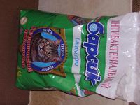 Отдается в дар Наполнитель туалета «Барсик» антибактериальный для кошек