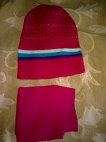 Отдается в дар Комплект: шарф и шапка