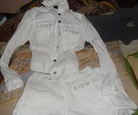 Отдается в дар белый летний костюм