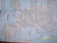 Отдается в дар Автодорожная карта Европы.