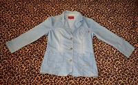 Отдается в дар Джинсовый пиджак — передар