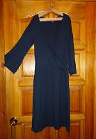 Отдается в дар Платье темно-синее