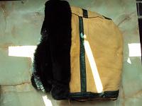 Отдается в дар Капюшон с мехом и перчатки замшевые на ХМ