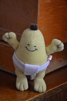 Отдается в дар Брелок большой груша-сумоист.