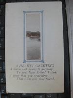 Отдается в дар Старинная открытка(США)