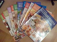 Отдается в дар 12 журналов «Коллекция рецептов»