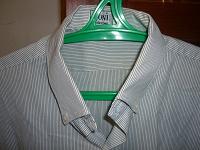 Отдается в дар Мужская рубашка с коротким рукавом размера L