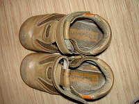 Отдается в дар сандалики (или ботиночки) на мальчика
