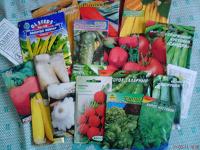 Отдается в дар Семена-1 овощи