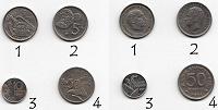 Отдается в дар 13 иностранных монет.