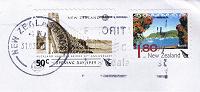 Отдается в дар Две марки Новой Зеландии с конверта.