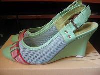Отдается в дар Туфли зеленые