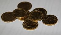 Отдается в дар 10-рублёвые юбилейные монеты…