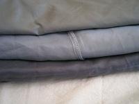 Отдается в дар Подкладочная ткань (куски) на ХМ (серая)